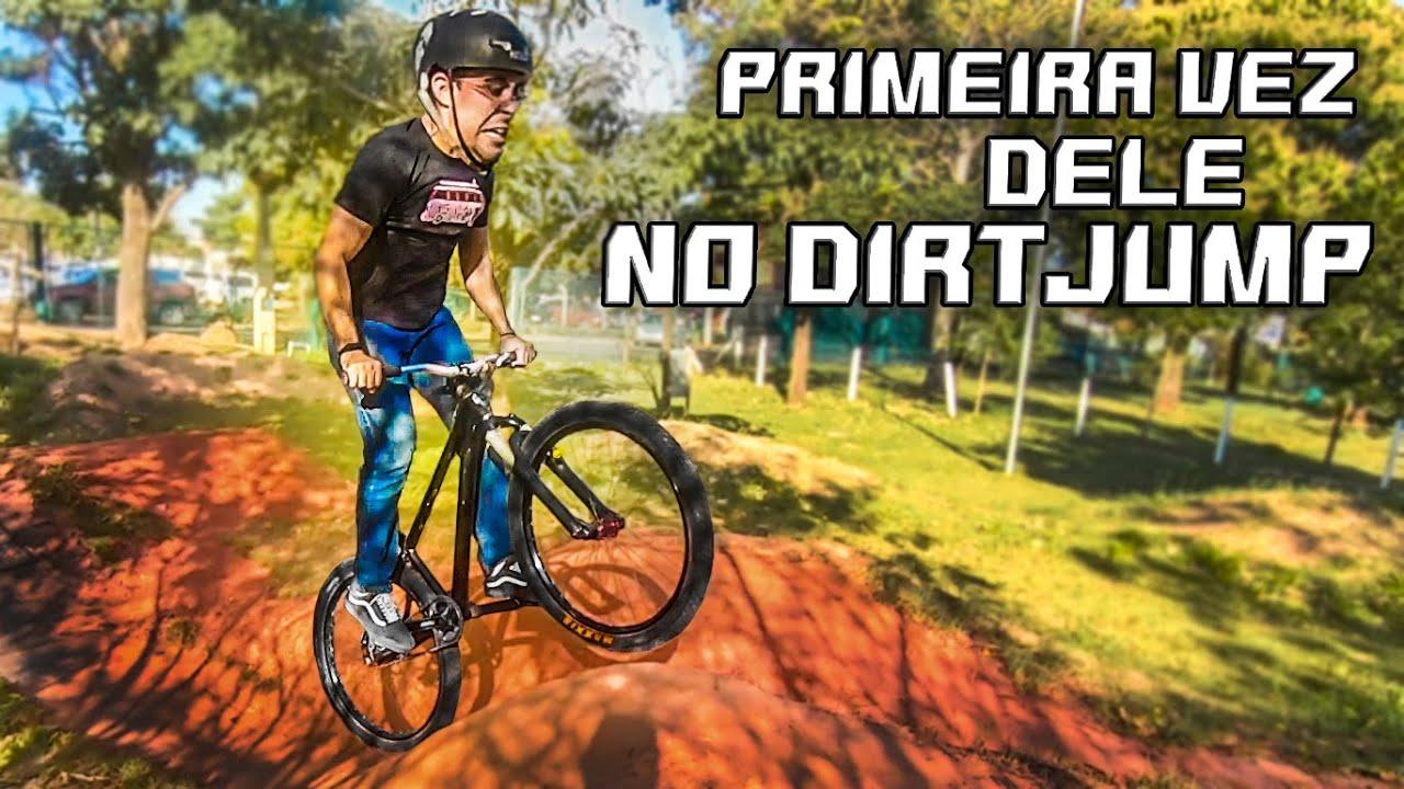 PRIMEIRA VEZ DO MEU PRIMO NO DIRTJUMP! - Jacaranda Trails