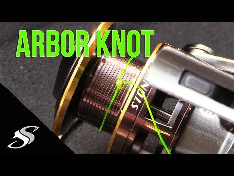 How To Tie Line To Reel Spool - Arbor Knot Tutorial