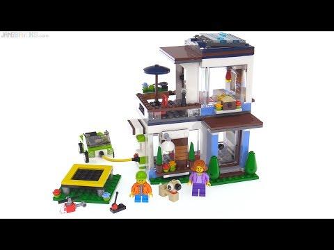 LEGO Creator 3-in-1 Modular Modern Home review 🏠 31068