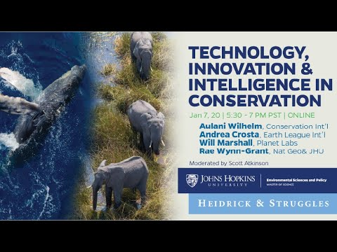 The Business of Saving our Planet: Technology, Innovation & Intelligence in Conservation