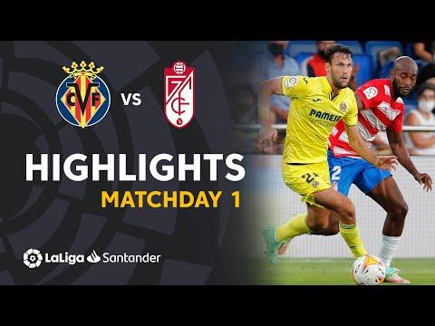 Villarreal Granada Goals And Highlights