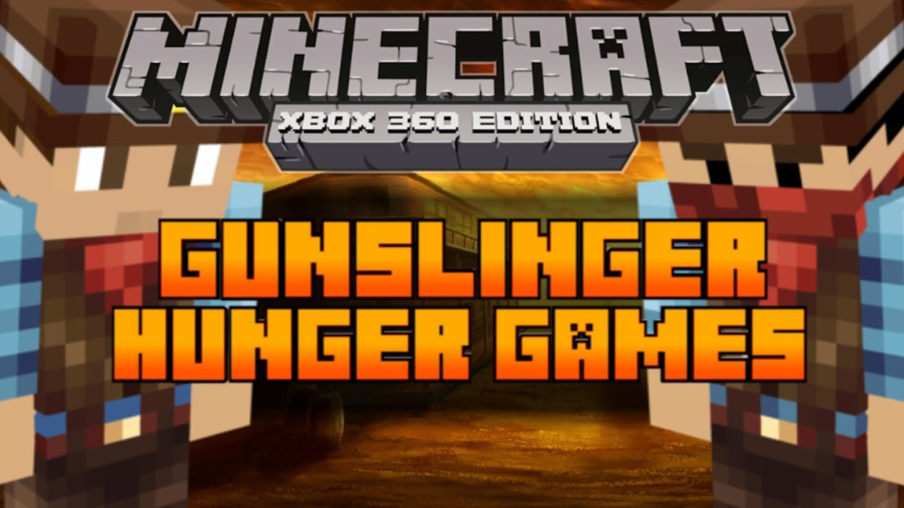 Xbox 360 Hunger Games : Minecraft xbox the hunger games map gunslinger