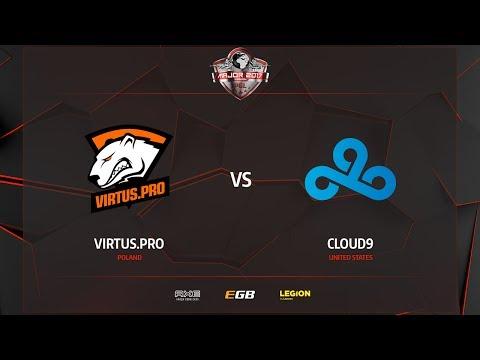 Virtus.Pro vs Cloud9, train, PGL Major Kraków 2017
