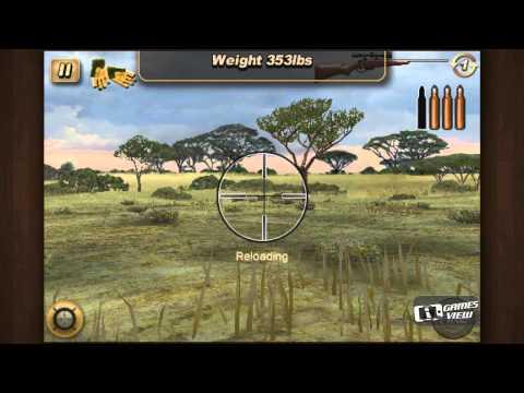 Deer Hunter African Safari - IPhone Game Preview