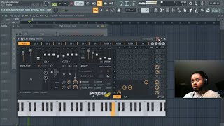 Making a Hip Hop Beat with Sytrus [FL Studio]