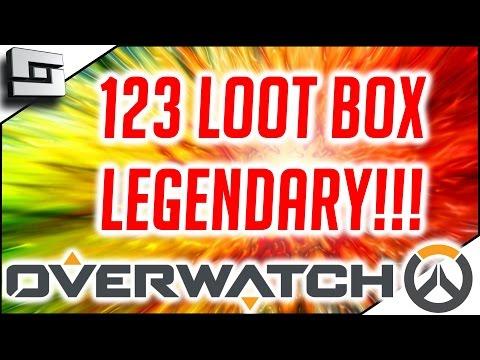 OVERWATCH - Legendary 123 Loot Box Opening!