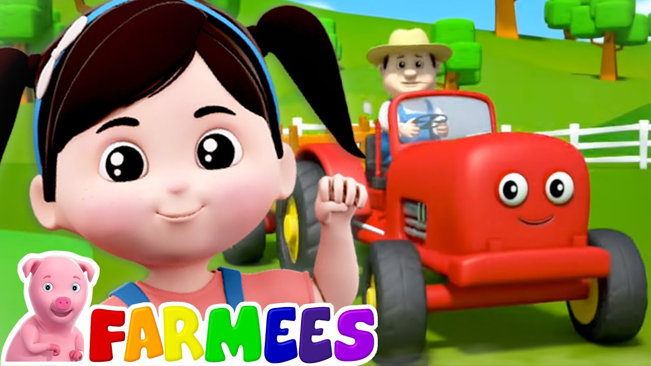 Colors Of The Farm | Colors Song | Farm Song | Nursery Rhymes and Baby Songs with Farmees