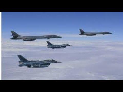 ALERT! North Korea: Tones of Preemptive Strike.  U.S. B-1B and Jets Close to DMZ Line.