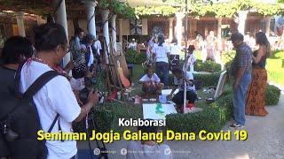 Kolaborasi, Seniman Jogja Galang Dana Penanganan Covid-19