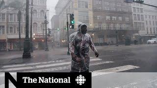 Hurricane Ida barrels into Louisiana