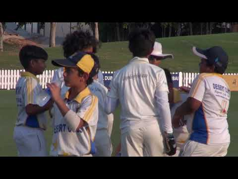 Desert Cubs Sports Academy UAE -- Friendly Match with ICC Under 11