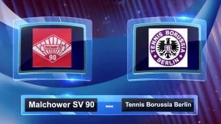 Malchower SV 90 - Tennis Borussia Berlin  16-9-16  2:3