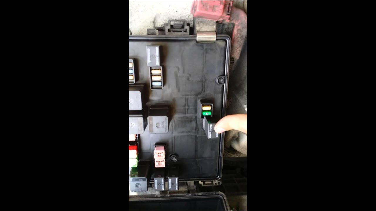 2009 Dodge Charger Starter Issues And Fix Youtube 5 9 Relay Wiring Diagram