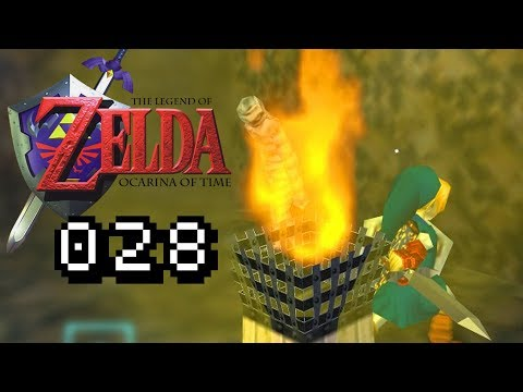 GEGEN MUMIE & ZOMBIE - Lets Play Zelda Ocarina of Time Gameplay #028 D...