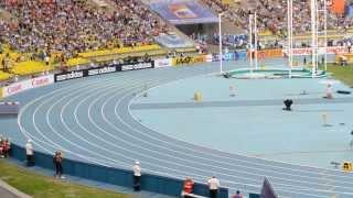 Украинские болельщики в Москве на Чемпионате мира по легкой атлетике 2013.