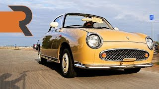 The Quirkiest Car Ever Made?!   JDM Nissan Figaro