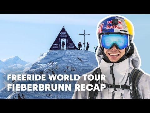 Freeride World Tour Full Highlights from Fieberbrunn, Austria