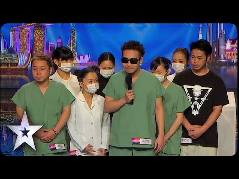 Time Machine Earns Van Ness Golden Buzzer | Asia's Got Talent 2015 Episode 1