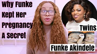 The Truth  Why Funke Akindele Kept Her Twin Pregnancy A Secret Twins
