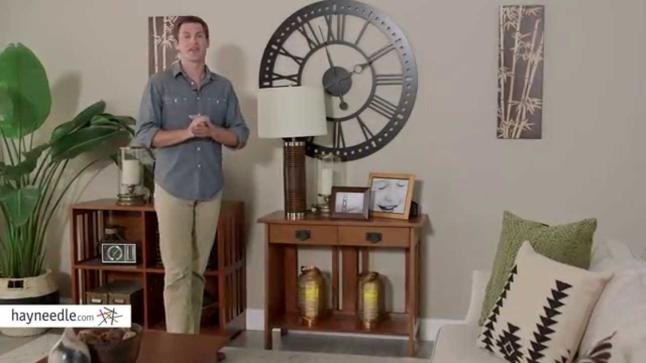 Belham Living Everett Mission Console Table   Product Review Video