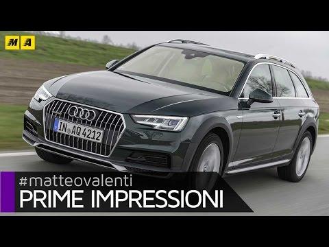 Nuova Audi A4 allroad quattro | Prime impressioni