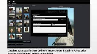 CyberLink MediaShow 5 - Part 1 - Mediendateien importieren