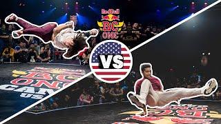 Red Bull BC One Cypher Orlando 2019 | Final B-Boys: Somar vs. Spindian