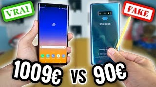 Download Video 90€ Faux Galaxy Note 9 VS 1009€ Galaxy Note 9 ! MP3 3GP MP4
