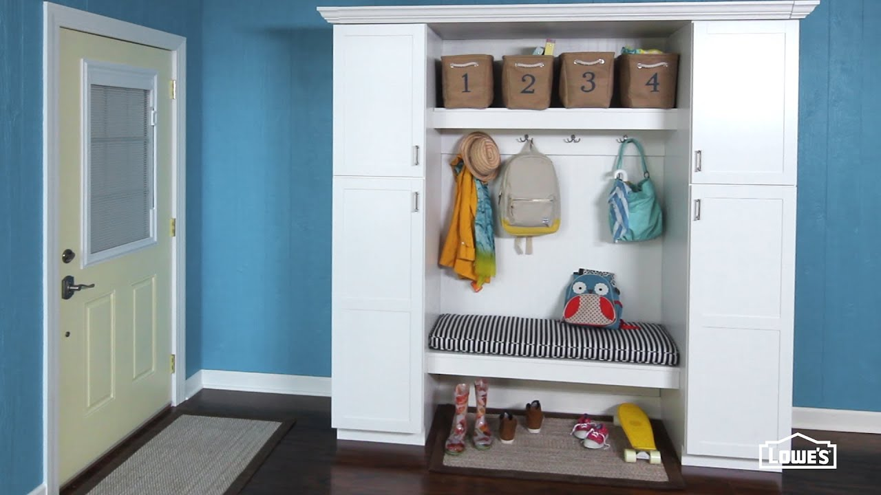 Tips To Install A Mudroom Storage Bench