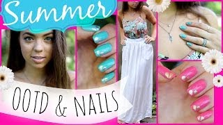 Summer OOTD☀️ (+ Matching Nail Look!) Thumbnail