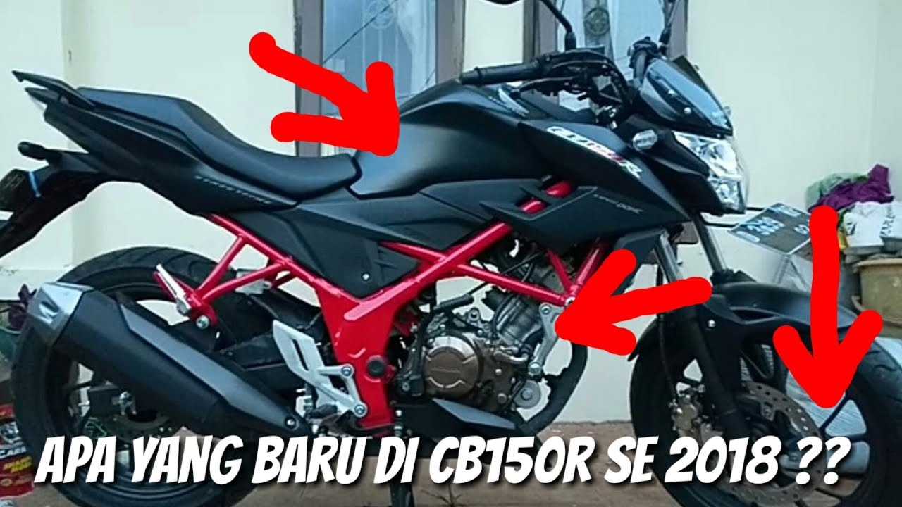 Modifikasi Motor Honda Cb150r 2018 Otomania Update
