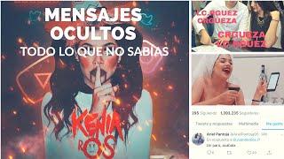 MENSAJES OCULTOS EN EL ROAST YOURSELF DE KENIA OS / TODA LA VERDAD