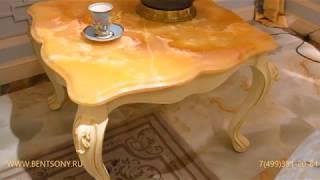 Видео обзор: Классический стол журнальный