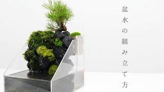超簡単!アクアテラリウム 盆水の組み立て方