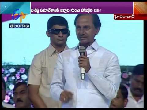 Eenadu Senior Journalist Aakarapu Mallesham Received State Award On Eve of Telangana Formation Day
