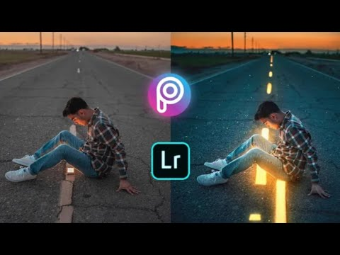 Glowing Road Editing Tutorial In Picsart | How To Edit Like Calop | Photo Editing Tutorial