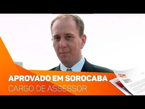 Vereadores de Sorocaba aprovam cargo de assessor para Brasília - TV SOROCABA/SBT