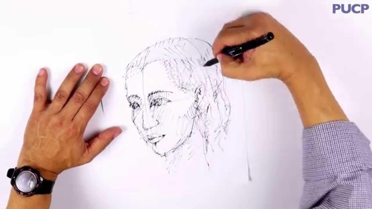 PUCP - ¿Cómo dibujar un rostro humano  - YouTube e1f557e11162