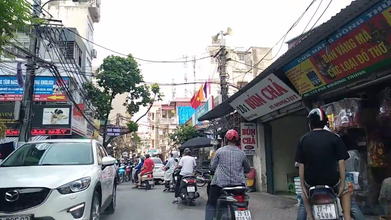 Đường Nguyễn Trãi | Phố Khương Trung | Thanh Xuân Hà Nội | 2018 Hanoi Business Travel
