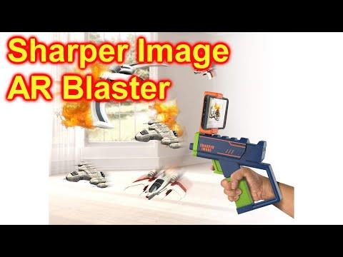 Sharper Image AR Blaster Augmented Reality Laser Game