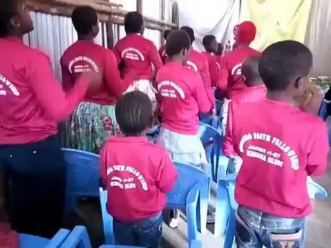 Beautiful Worship to Christ Jesus in Kibera Slum Fellowship