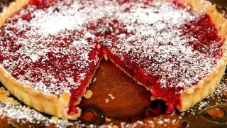 Cranberry Tart Recipe - Laura Vitale - Laura In The Kitchen Episode 237