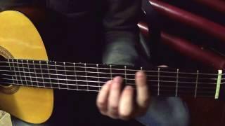"""Как играть на гитаре песню: """"Доля"""" О. Скрипки?"""