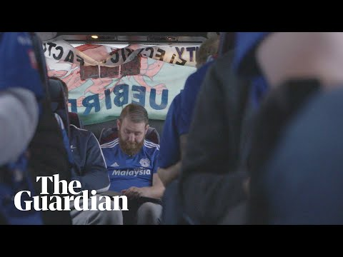 What are the challenges facing away fans in the age of televised football?