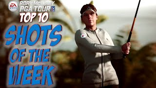 Rory McIlroy PGA Tour - Top 10 Shots Of The Week