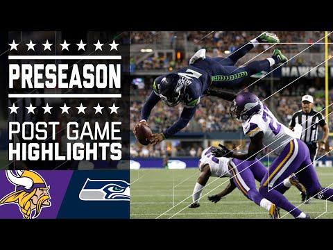 Vikings vs. Seahawks | Post Game Highlights | NFL