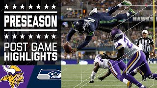 Vikings vs. Seahawks | Game Highlights | NFL