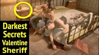 Gambar cover Misdeeds of Valentine Sheriff in Red Dead Redemption 2 (RDR2): Curtis Malloy and Moira Calthorpe
