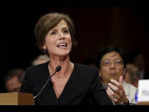 Yates testifying on ousted national security adviser Flynn