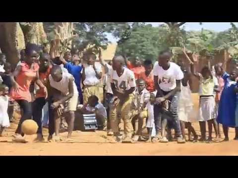 GHETTO KIDS DANCING ALOGA   BY Fredo Dadson ( African music)